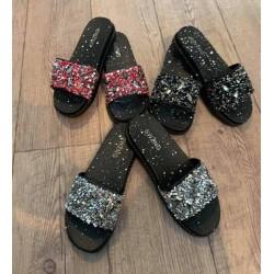 Дамски стилни чехли